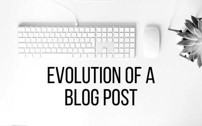 Evolution of a Blog Post – Download