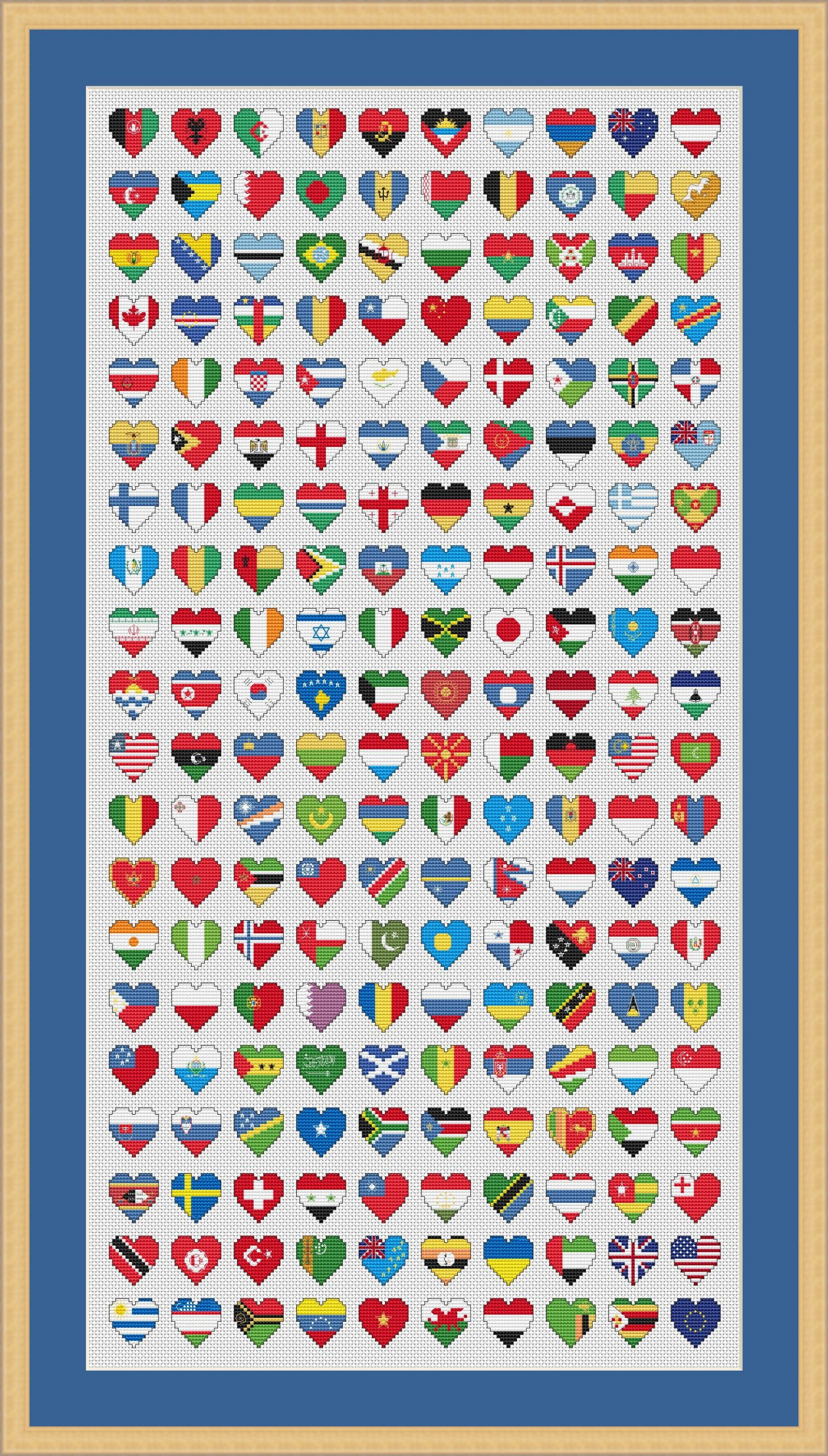 Flags of the World by Holly's Hobbies