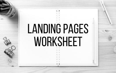 Worksheet – Landing Pages